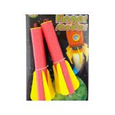 72 Units of Flying Foam Finger Shooters - Toy Weapons