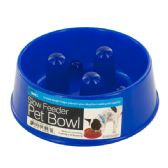 72 Units of Slow Feeder Dog Food Bowl - Pet Accessories