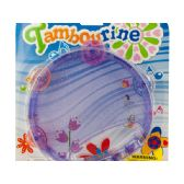 72 Units of Glitter Toy Tambourine - Musical