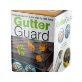 18 Units of Gutter Guard with Hooks - Garden Cleanup Aids