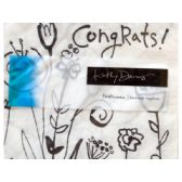 108 Units of Mod Blooms Congratulations Beverage Napkins - Napkin and Paper Towel Holders