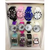 80 Units of Wholesale Bulk Lot Watches Silicone Fashion Watches