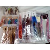 100 Units of Wholesale Feather Jewelry 100 packs