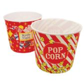 24 Units of POPCORN BUCKET - Party Paper Goods