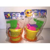 72 Units of Beach Toy Set 6Pc Set - Beach Toys