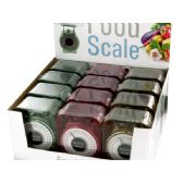 36 Units of Kitchen Food Scale Countertop Display - Kitchen Gadgets