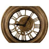 12 Units of Gold Gear Design Wall Clock - Wall Decor