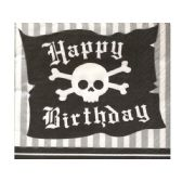 108 Units of Pirate Parrty Beverage Napkins