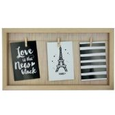 12 Units of Beige Clothesline Photo Frame - Photo Frame