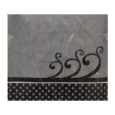 108 Units of Chic Wedding Cake Beverage Napkins - Napkin and Paper Towel Holders