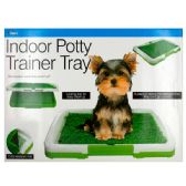 6 Units of Indoor Potty Trainer Tray - Pet Grooming Supplies