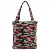 36 Units of Mid Size Tote in Girly Camouflage Print - Tote Bags & Slings