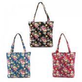 36 Units of Mid Size Tote in a Floral Print - Tote Bags & Slings