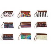 300 Units of Women's Wristlet in Assorted Prints / Colors