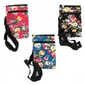 120 Units of Mini Cross Body Bag in a Floral Print - Tote Bags & Slings