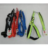 """24 Units of 48"""" Leash and Harness Set [Large] - Pet Collars and Leashes"""