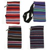 120 Units of Mini Cross Body Bag in a Popular Jute Print - Tote Bags & Slings