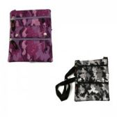 60 Units of Mid Size Cross Body Bag in Camouflage - Tote Bags & Slings