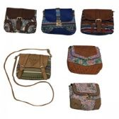 120 Units of Cross Body Bag Assorted Colors and Prints