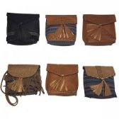 60 Units of Cross Body Bag Assorted Colors and Prints