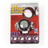 60 Units of 21 LED Headlamp - Camping Gear