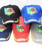 48 Units of Mexican Flag Baseball Cap