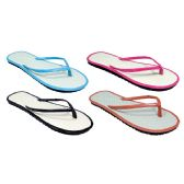 96 Units of Bamboo Women Flip Flops