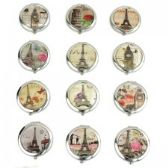 120 Units of MIRROR-PARIS: Circular Cosmetic Mirror - Cosmetics