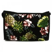 60 Units of Cosmetic Make Up Bag in a Trendy Pineapple Print