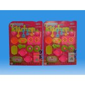 36 Units of KITCHEN SET IN BLISTER - GIRLS TOYS