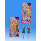 48 Units of 2 pieces Doll in blister card - Dolls