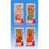 72 Units of 11 doll in box assorted. dress - Dolls