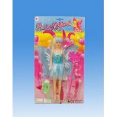 72 Units of 11 Fairy doll in blister card assorted. - Dolls