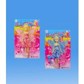 72 Units of Fairy doll in blister card 2 assorted. design - Dolls