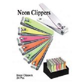 24 Units of Nail Neon Clippers
