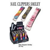 24 Units of NAIL CLIPPERS SMILEY FACE