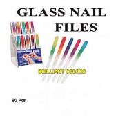 60 Units of GLASS NAIL FILE