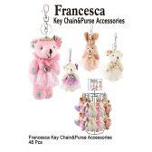 48 Units of FRANCESCA PRINCESS ANIMAL KEY CHAIN