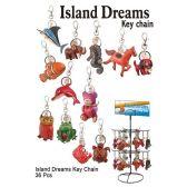 36 Units of ISLAND DREAMS KEY CHAIN