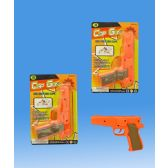 72 Units of 0.45 Cap gun in blister card - Toy Weapons
