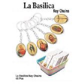 48 Units of LA BASILICA RELIGOUS KEY CHAIN