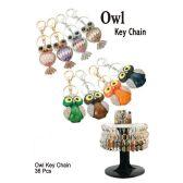 36 Units of OWL KEY CHAIN