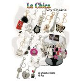 48 Units of LA CHICA KEY CHAINS