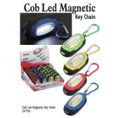 24 Units of COB LED LIGHT MAGNETIC KEY CHAINS