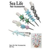 60 Units of SEA LIFE HAIR ACCESSORIES - Hair Accessories