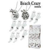 36 Units of BEACH CRAZY ANKLETS - Ankle Bracelets