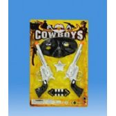 108 Units of Cowboy set in blister card - Toy Sets