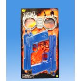 72 Units of 2 Pieces gun set in blister card - Toy Weapons