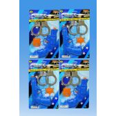 72 Units of Police gun set in blister card - Toy Weapons