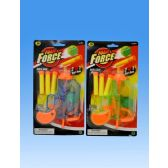 72 Units of Ball gun with darts in blister card - Toy Weapons
